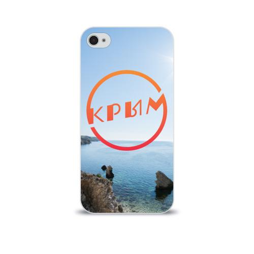 Чехол для Apple iPhone 4/4S soft-touch  Фото 01, Крым