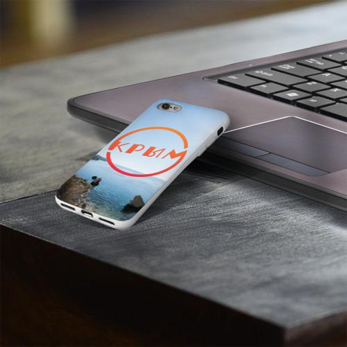Чехол для Apple iPhone 8 силиконовый глянцевый  Фото 03, Крым