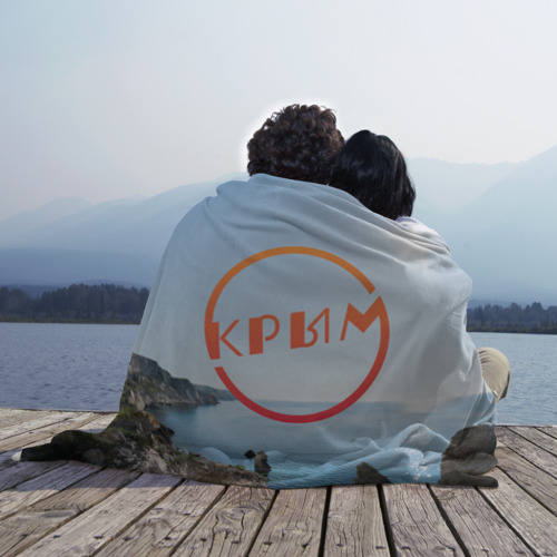 Плед 3D  Фото 02, Крым