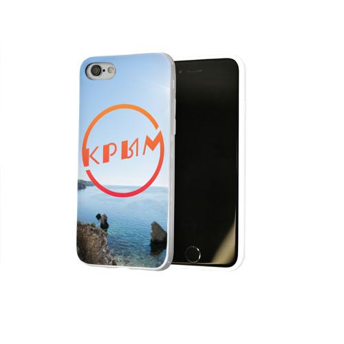 Чехол для Apple iPhone 8 силиконовый глянцевый  Фото 02, Крым