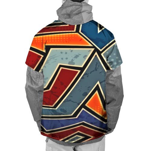 Накидка на куртку 3D  Фото 02, Линии геометрии