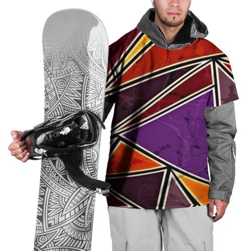 Накидка на куртку 3D  Фото 01, Линии поп арт