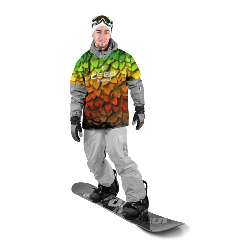 Накидка на куртку 3D  Фото 03, cs:go - Seasons style XM1014