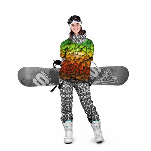 Накидка на куртку 3D  Фото 05, cs:go - Seasons style XM1014
