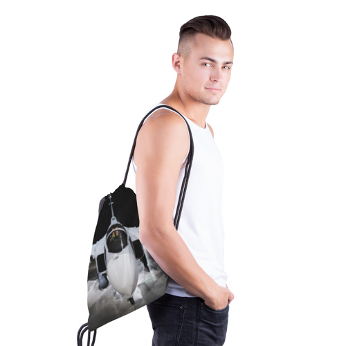Рюкзак-мешок 3D Истребитель Фото 01