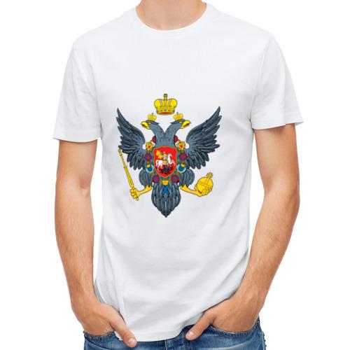 Мужская футболка полусинтетическая  Фото 01, Герб царской России