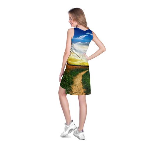 Платье-майка 3D Звезда Руси Фото 01