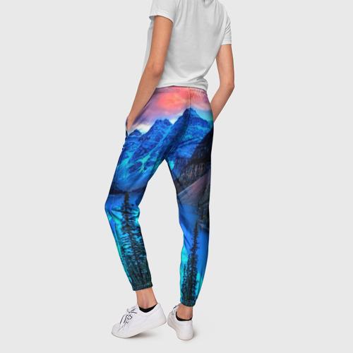 Женские брюки 3D  Фото 02, Озеро