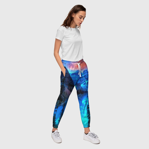 Женские брюки 3D  Фото 03, Озеро