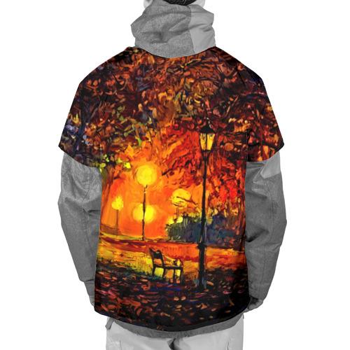 Накидка на куртку 3D  Фото 02, Осенний парк