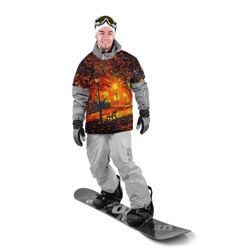 Накидка на куртку 3D  Фото 03, Осенний парк