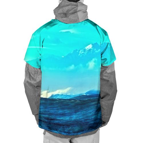 Накидка на куртку 3D  Фото 02, Море