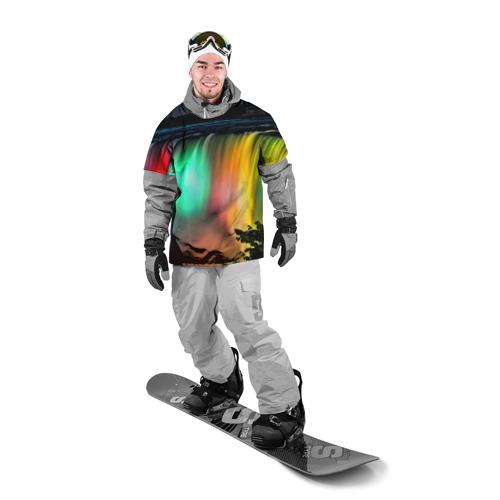 Накидка на куртку 3D  Фото 03, Цветной водопад
