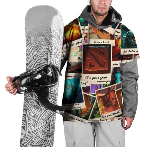Накидка на куртку 3D  Фото 01, Photograph
