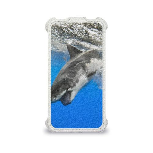 Чехол для Apple iPhone 4/4S flip  Фото 04, Акула