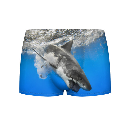 Мужские трусы 3D Акула Фото 01