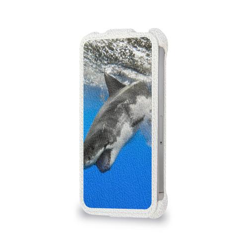 Чехол для Apple iPhone 4/4S flip  Фото 06, Акула