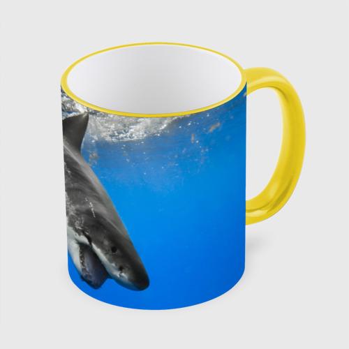 Кружка с полной запечаткой Акула