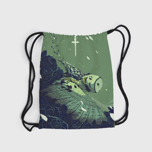 Рюкзак-мешок 3D  Фото 04, Сова-пурга