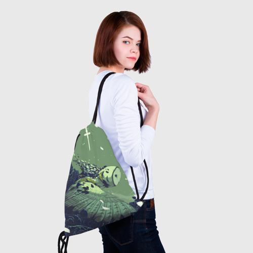 Рюкзак-мешок 3D  Фото 02, Сова-пурга