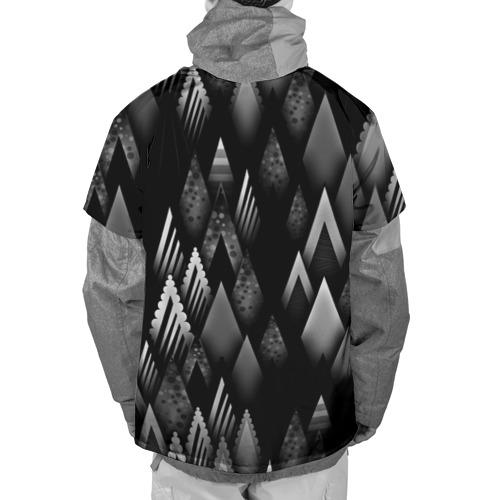 Накидка на куртку 3D  Фото 02, Ёлочки