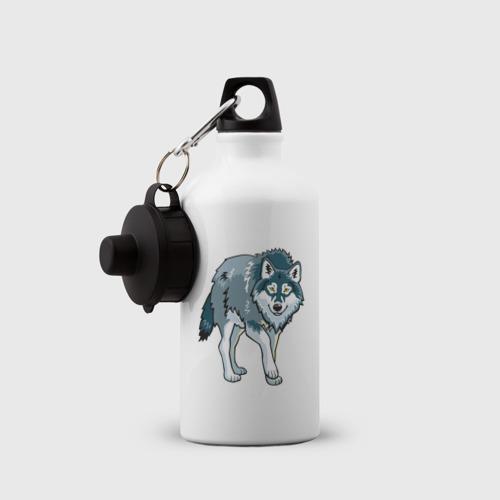 Бутылка спортивная  Фото 03, Серый волк