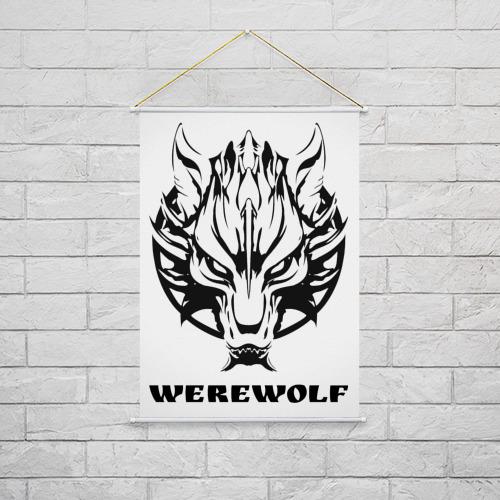 Тканевый плакат  Фото 02, Werewolf (оборотень)
