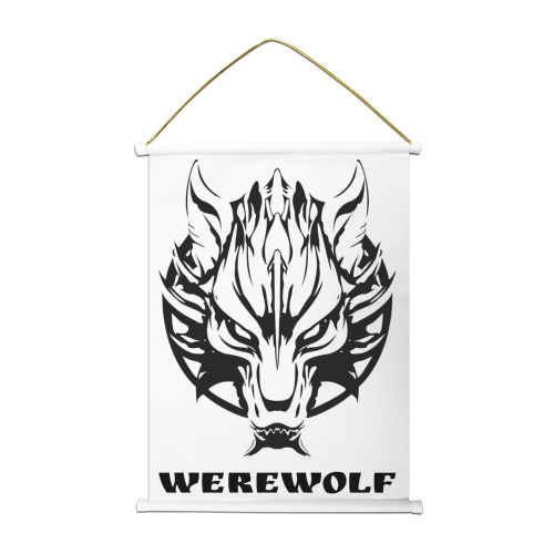 Тканевый плакат  Фото 01, Werewolf (оборотень)