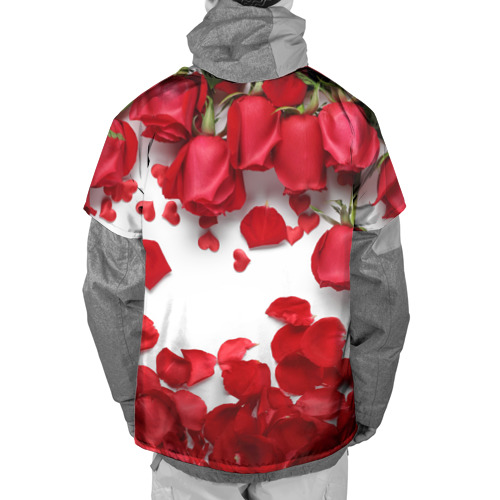Накидка на куртку 3D  Фото 02, Сильные чуства