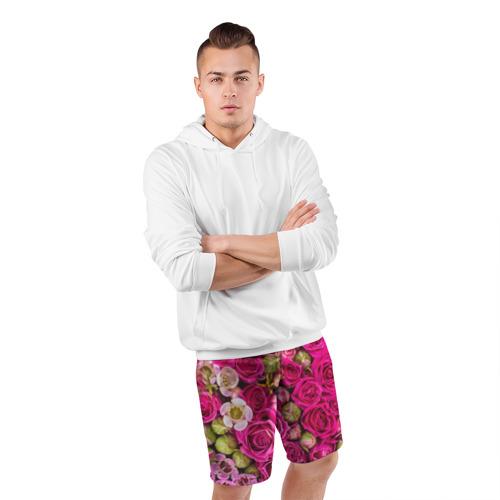 Мужские шорты 3D спортивные  Фото 05, Пылания страсти