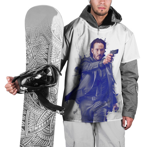 Накидка на куртку 3D  Фото 01, Джон Уик