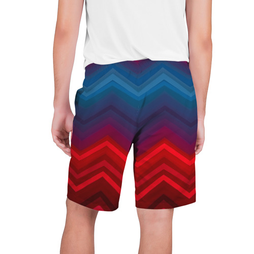 Мужские шорты 3D  Фото 02, Zigzag pattern
