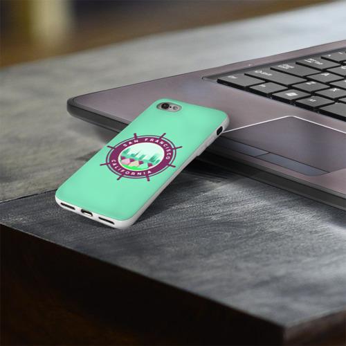 Чехол для Apple iPhone 8 силиконовый глянцевый  Фото 03, Сан Франциско