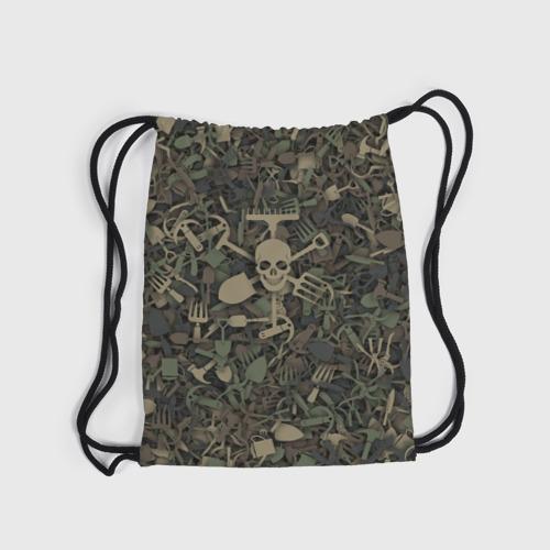 Рюкзак-мешок 3D  Фото 04, Камуфляж садовода