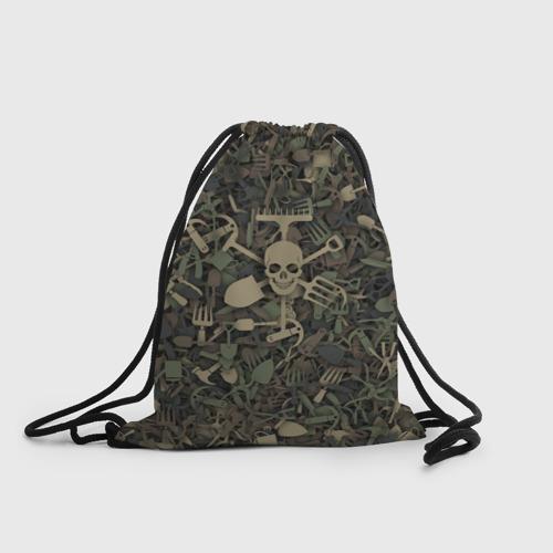Рюкзак-мешок 3D  Фото 01, Камуфляж садовода