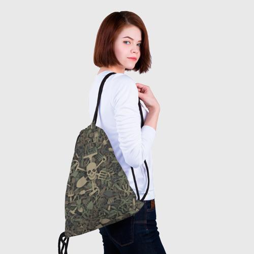 Рюкзак-мешок 3D  Фото 02, Камуфляж садовода