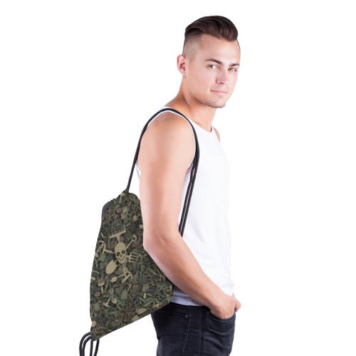 Рюкзак-мешок 3D  Фото 03, Камуфляж садовода