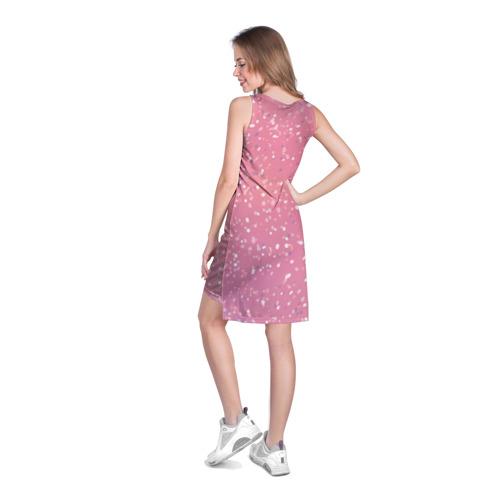 Платье-майка 3D  Фото 04, Keep calm and love pink