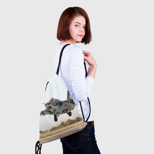 Рюкзак-мешок 3D  Фото 02, Истребитель