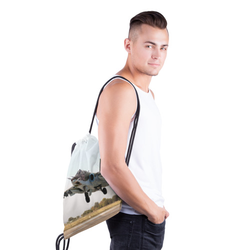 Рюкзак-мешок 3D  Фото 03, Истребитель
