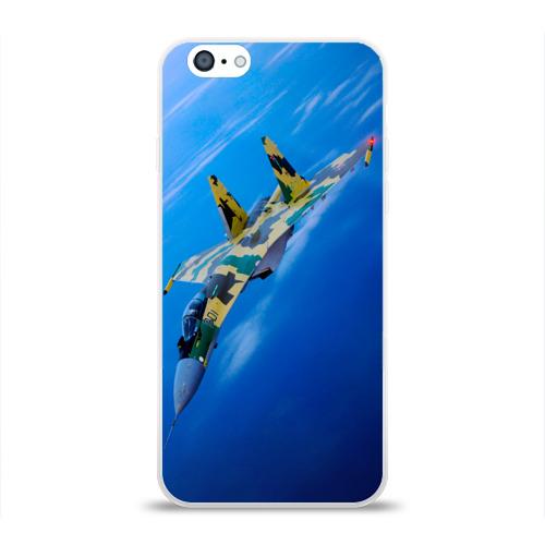 Чехол для Apple iPhone 6 силиконовый глянцевый  Фото 01, Су 35