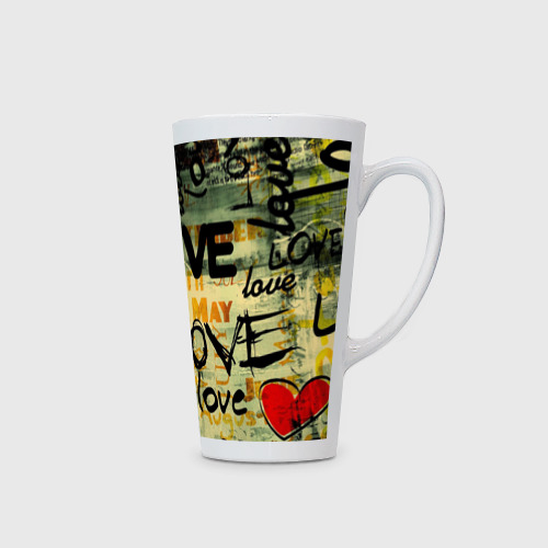 Кружка Латте  Фото 02, Love letter
