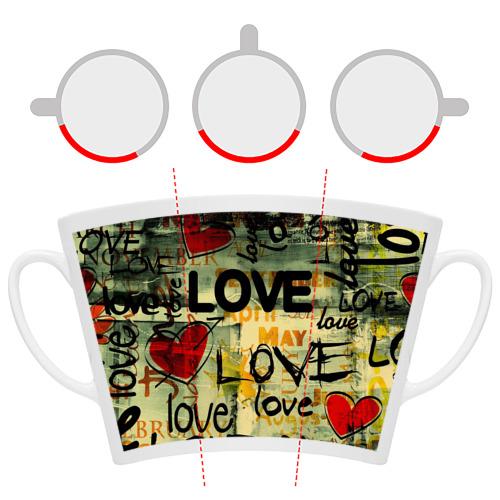 Кружка Латте  Фото 06, Love letter