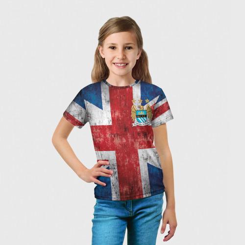 Детская футболка 3D  Фото 03, Манчестер Сити