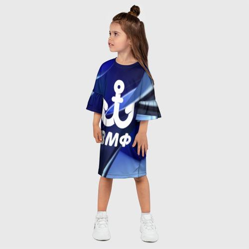 Детское платье 3D  Фото 03, ВМФ