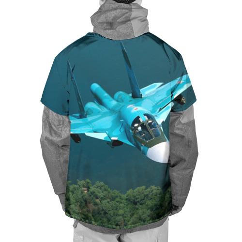 Накидка на куртку 3D  Фото 02, Су 34