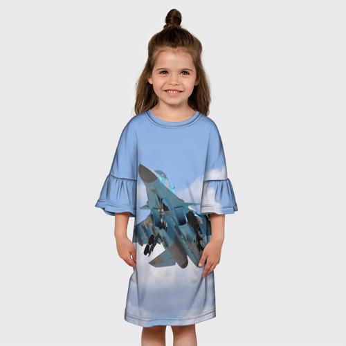Детское платье 3D  Фото 01, Сухой