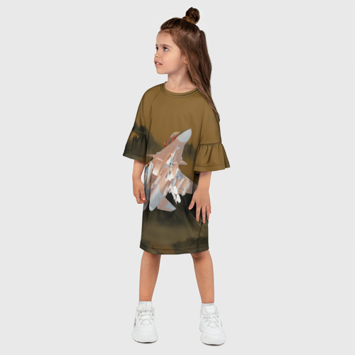 Детское платье 3D  Фото 03, Ночной полет Сухого