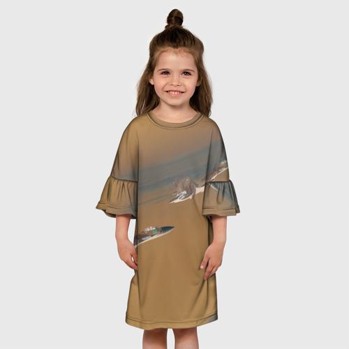 Детское платье 3D  Фото 01, Ночной рейд
