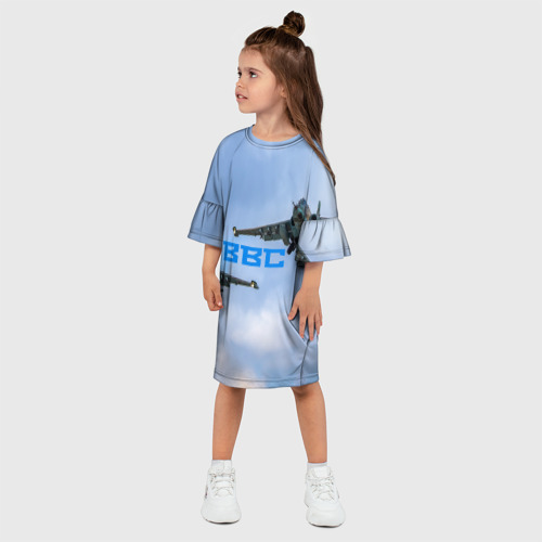 Детское платье 3D  Фото 03, ВВС